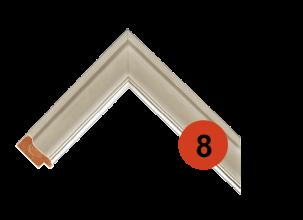 Рама багетная деревянная 8