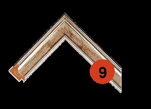 Багетная рама 9 деревянная