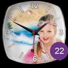 Часы керамические с фотографией 22