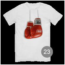 "футболка с принтом ""бокс"""