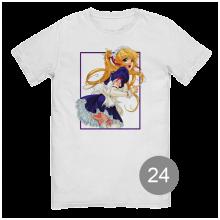 """футболка с принтом """"анимэ"""""""
