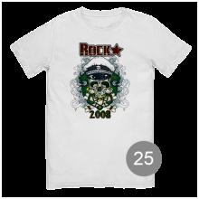 """футболка с принтом """"rock"""""""
