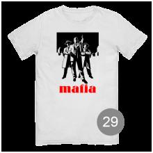 "футболка с принтом ""mafia"""