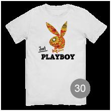 """футболка с принтом """"playboy"""""""