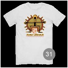 """футболка с принтом """"homo urbanus"""""""