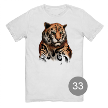 "футболка с принтом ""тигр"""