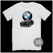 """футболка с принтом """"BMW"""""""