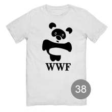 "футболка с принтом ""WWF"""