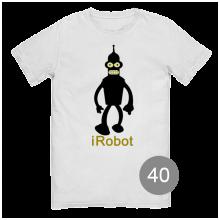 футболка с принтом 40