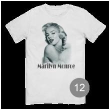 """футболка с принтом """"Мерлин Монро"""""""