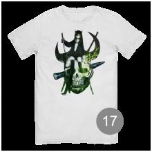футболка с принтом 17