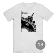 """футболка с принтом """"Paris"""""""