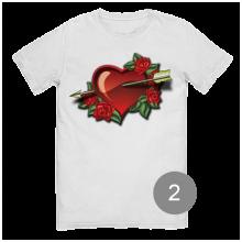 """футболка с принтом """"love"""""""