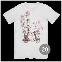 футболка с принтом 20