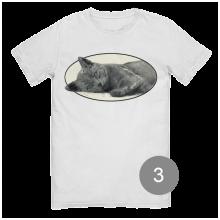 """футболка с принтом """"мой кот"""""""