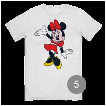 "футболка с принтом ""Минни Маус"""