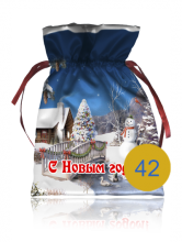 Подарочный мешочек образец 42