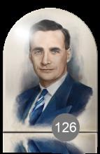 портрет для памятника с обработкой под живопись 126
