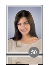Прямоугольный портрет 50 для памятника