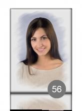 Прямоугольный портрет 56 для памятника