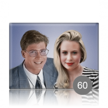 Прямоугольный портрет 60 для памятника