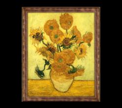 Репродукция «Подсолнухи» Винсент Ван Гог