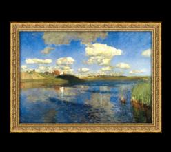 Репродукция «Озеро» И.И. Левитан