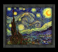 Репродукция «Звездная ночь» Винсент Ван Гог