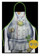 женский кухонный фартук 19
